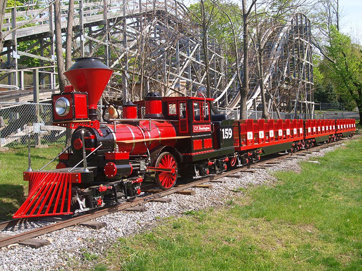 A picture of Quassy Express Train